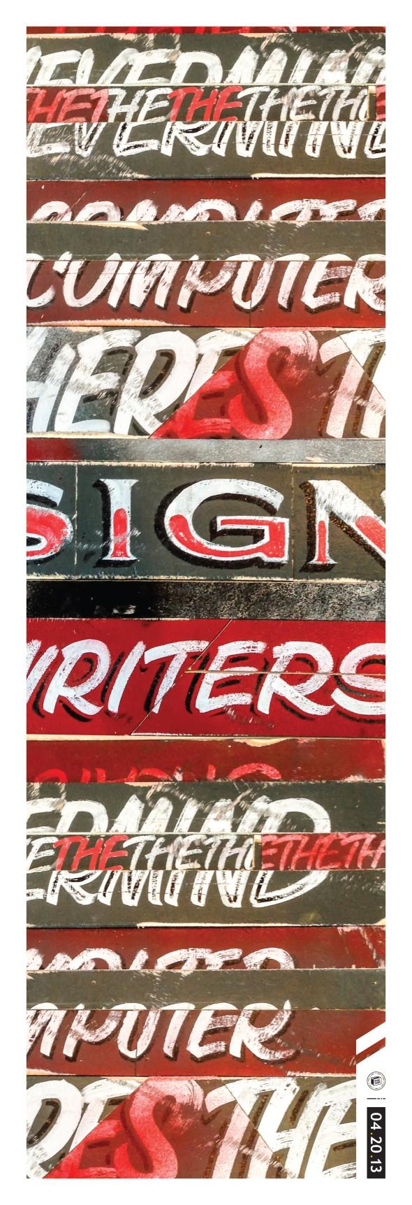 PHSHTANK_13_KFN4_SignPaintingMRG_Poster_6.5X19-1.6.indd